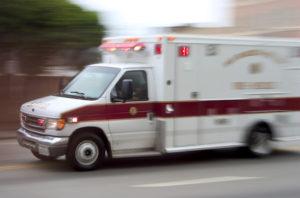 ambulance personal injury emergency