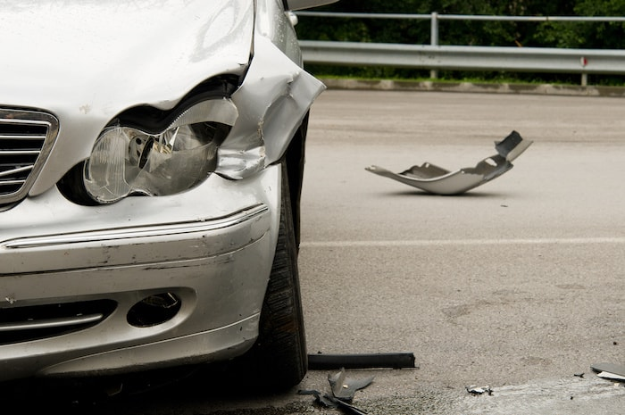 car wreck injury accident