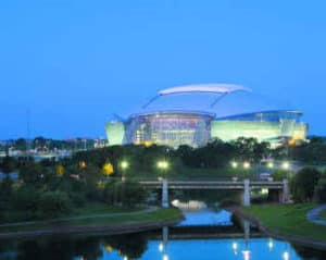 cowboys stadium in arlington tx