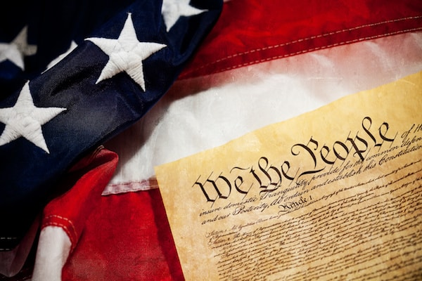 """""""We the People"""" - the United States Constitution."""